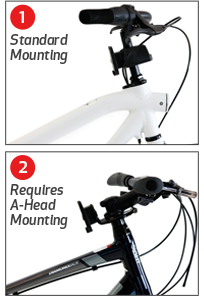 front mounted child bike seat mounting options